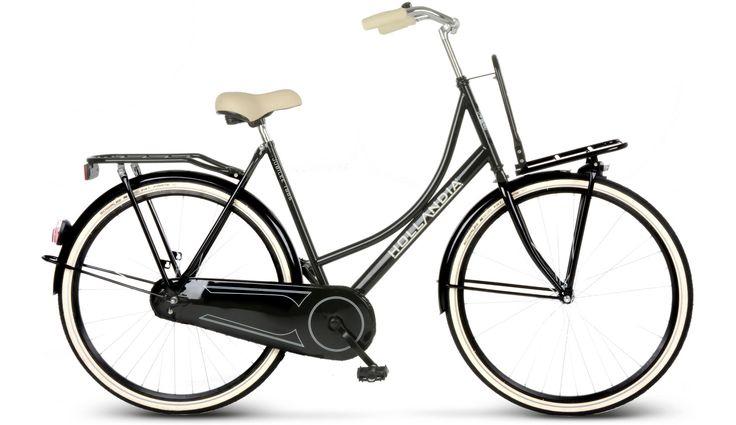 Hollandia Jubilee Stadsfiets zwart I Voordelig kopen bij Bikester