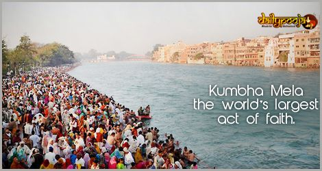 The #Kumbha Mela is as mesmerizing as it is #spiritual. This ancient #Hinduism festival is the largest religious gathering in the world to take the bath in the holy rivers on the most auspicious day that will absolve them and their sin. #Dailypooja