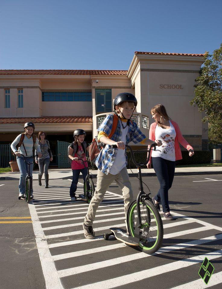 Sbyke es el transporte ideal para que los niños puedan ir al colegio. Encuéntralo en exclusuva #Weeknjoy #LoveSbyke