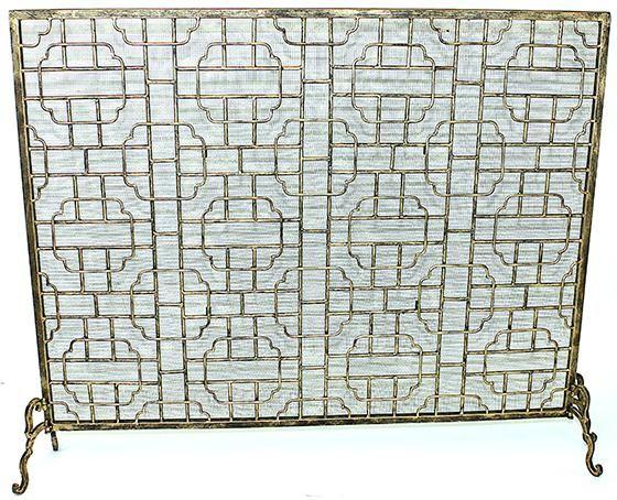 Palais kandalló képernyő - kandalló képernyő - dekoratív kandalló képernyők - kandallók és kiegészítők - Home Decor - Home Motívumok | HomeDecorators.com