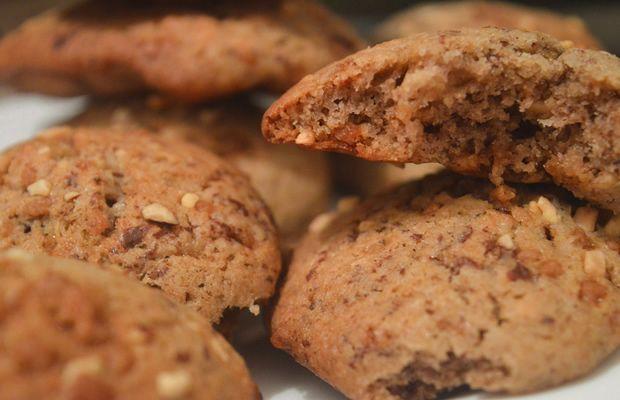 cookies pralin crème de marrons chocolat