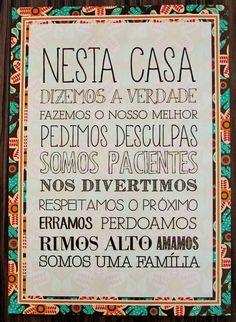 quadros com frases em portugues - Pesquisa Google