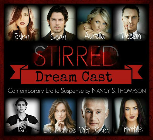 Book-o-Craze: Book Tour {Dream Cast & Giveaway} -- Stirred by Nancy S. Thompson