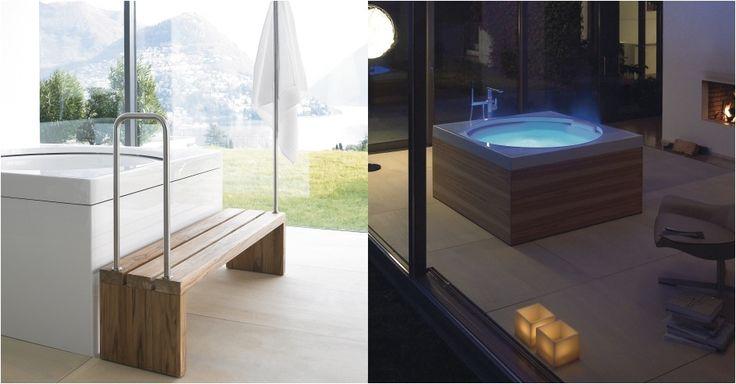 Гидромассажные ванны, минибассейны Duravit: Blue Moon  #hogart_art #interiordesign #design #apartment #house #bathroom #bathtub #duravit #shower #sink #bathroom #bath