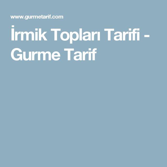 İrmik Topları Tarifi - Gurme Tarif