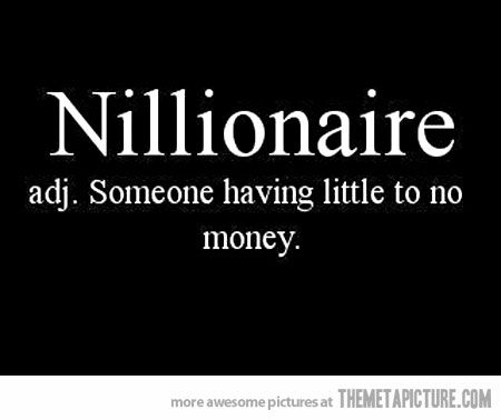 Officially a nillionaire