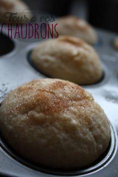 Muffins au goût de beigne Dur à croire mais oui... ça goûte exactement les beignes ! J'avais aperçu cette recette sur le site que j...