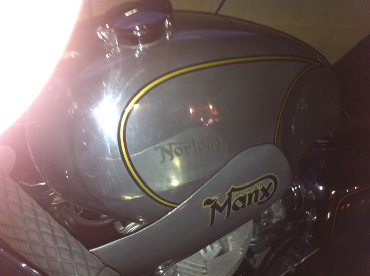 Norton Replica with ghosted logo by Ghostwriter