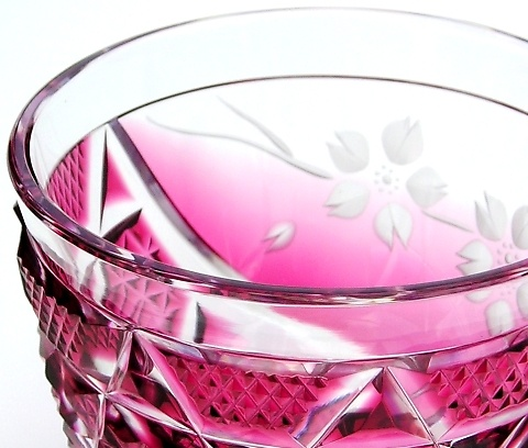 薩摩切子(SATSUMA-KIRIKO) #Cut glass #Japanese #Traditional handicrafts