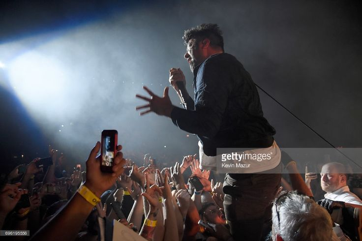 Chino Moreno of Deftones performs at Northwell Health at Jones Beach Theater on June 13, 2017 in Wantagh, New York.