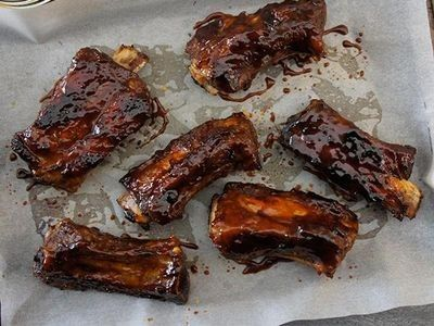 Marinated Pork Spare Ribs recipe