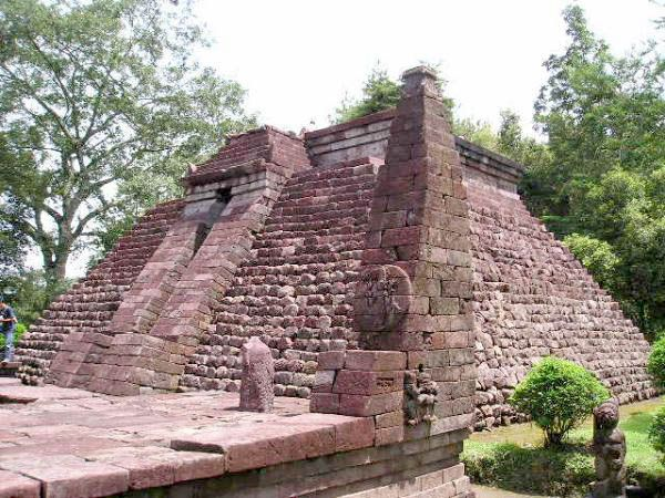temples Sukuh-shaped pyramid in Central Java 6