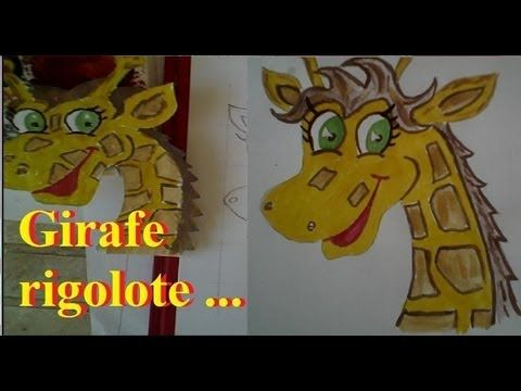 1000 id es sur le th me dessin de girafe sur pinterest - Girafe rigolote ...
