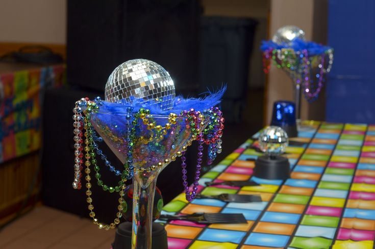 disco party decorations party favors ideas