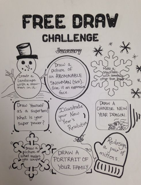 The smARTteacher Resource: January Free Draw Challenge