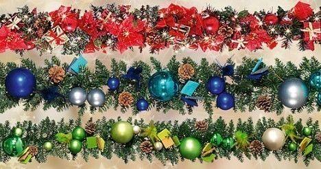 Natale festoni per la casa
