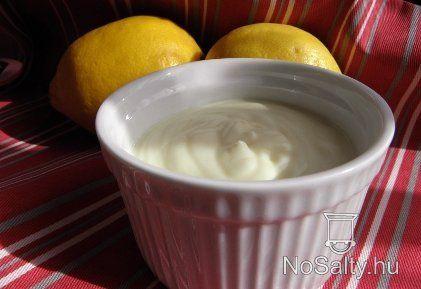 Joghurtos-tejszínes citromkrém