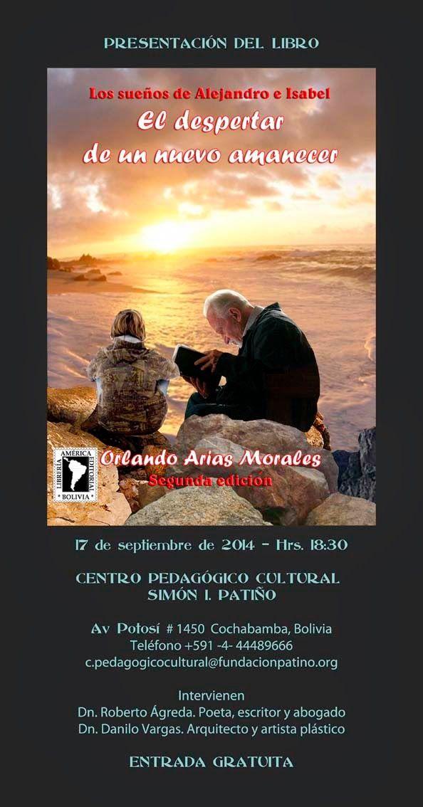 """Obra literaria: Presentación del libro """"Los sueños de Alejandro e ..."""