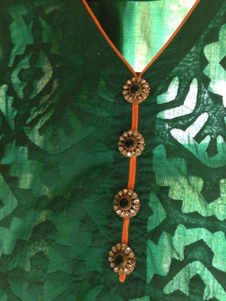 Rilli shirts, handmade by women artisans in Khairpur