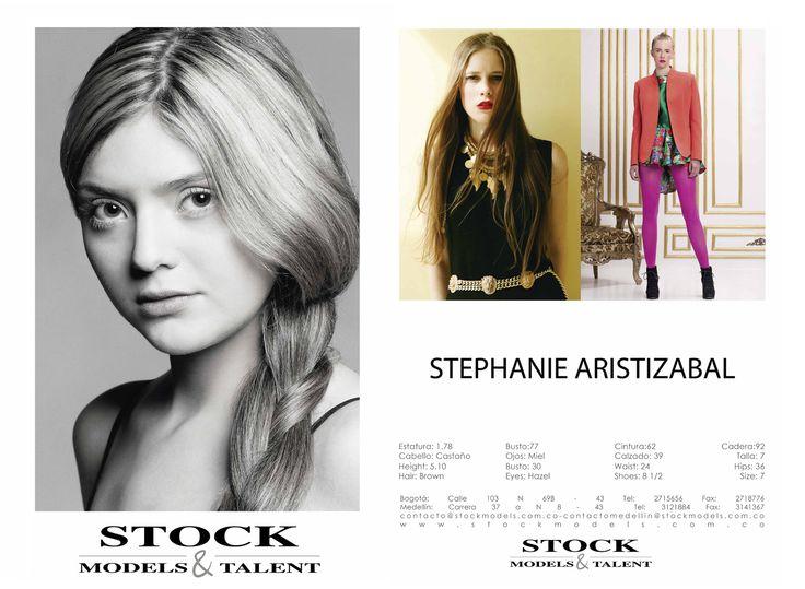Stephanie Aristizabal - Modelo Stock Models -