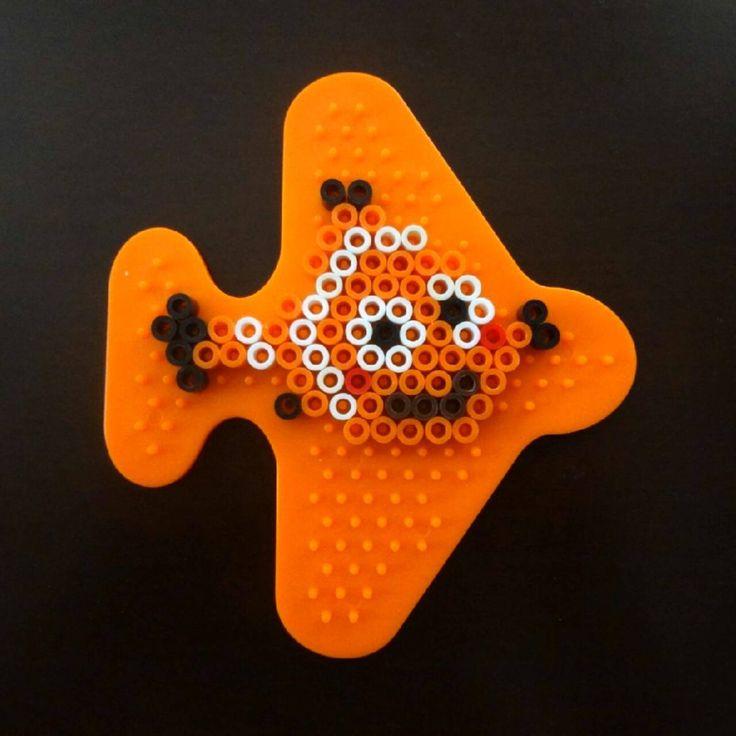 Nemo - Finding Dory perler beads