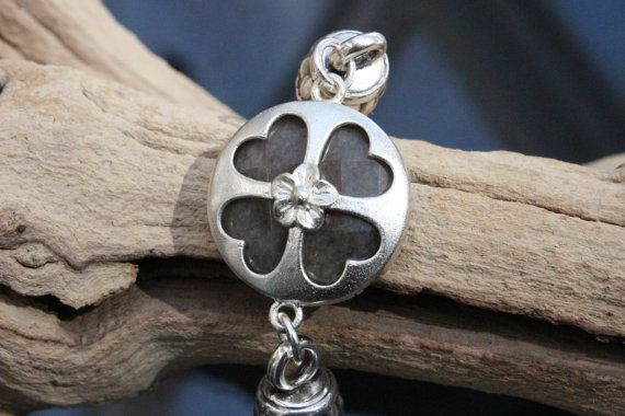 Leather Bracelet Silver Plated Jade Stone by PepperPotLeatherShop, $45.99