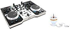 Hercules DJControl Compact super-mobile USB Controller with 8 Trigger Pads and 2 Virtual Turntable Decks | Dj Mixers And Controllers