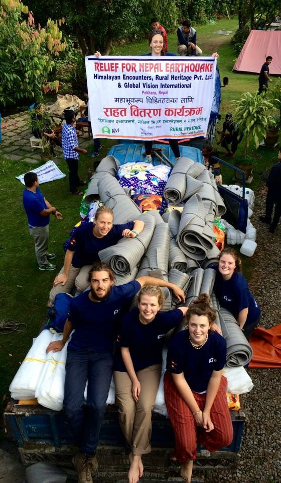 Read our volunteers' blog about their experience putting together aid packs for those affected by the #NepalEarthquake  Nepal Earthquake Relief | GVI UK