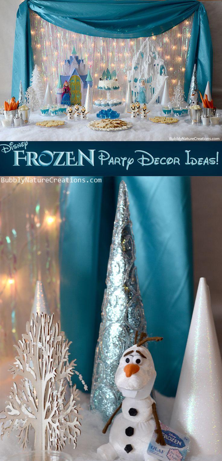 Disney FROZEN Party Decor Ideas!