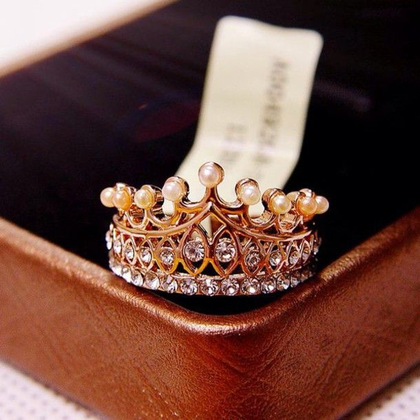 "I think this crown ring is a cute idea for a purity ring. I would like to get it engraved on the inside, ""I am a princess because I am the daughter of a king."" or something like that."