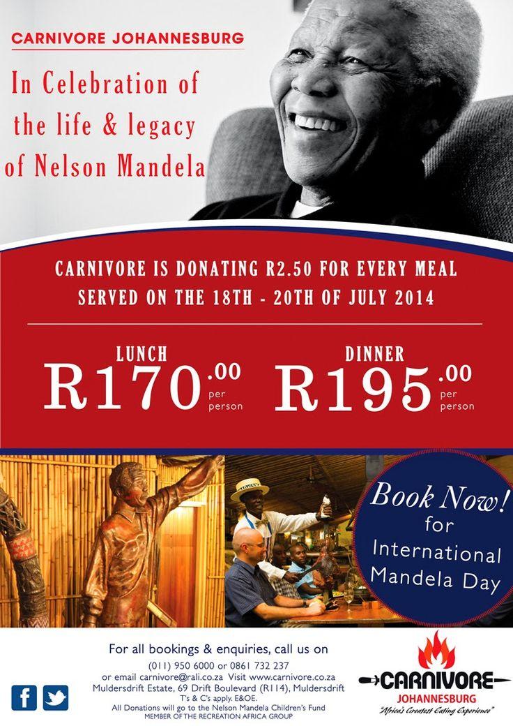 Recreation Africa:  Join Carnivore Restaurant Johannesburg in celebra...
