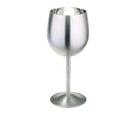 Stainless Steel Wine Goblet 12 Oz. - Satin Finish by Cuisinox, http://www.amazon.com/dp/B000H70EUW/ref=cm_sw_r_pi_dp_ElFiqb0EBHMX2