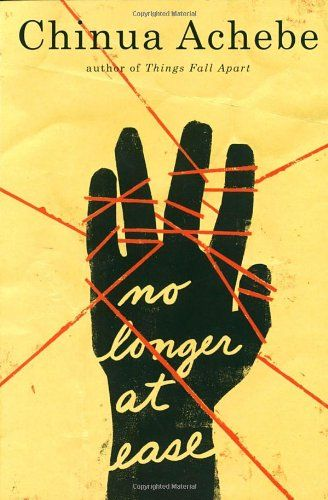 No Longer at Ease by Chinua Achebe,http://www.amazon.com/dp/0385474555/ref=cm_sw_r_pi_dp_ozjvtb0GPQEAS6CK