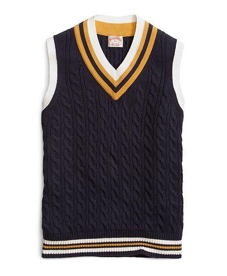 Now $64.00 (was $128.00).Men's Cricket #Vest - $64 at Brooks Brothers. Find more detail on DealsAlbum.com.