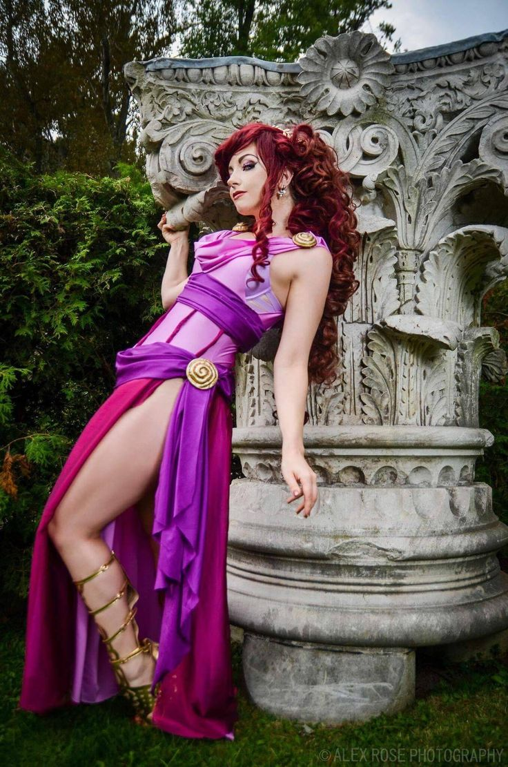 Cosplayer: Cosplay Butterfly. Country: Canada. Cosplay: Megara from Hercules. Photo by: Alex Rose Photography. https://m.facebook.com/officialcosplaybutterfly/