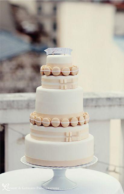 Macaron Wedding Cake-Paris-Fashion-Shoot-Robert-Kathleen-Photographers-Style Me Pretty by camillestyles, via Flickr