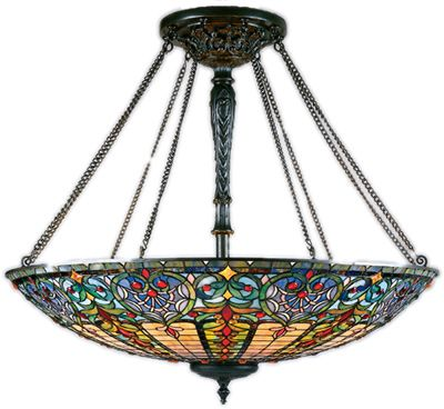 Tiffany and Stained Glass Ceiling Lights - Brand Lighting Discount Lighting - Call Brand Lighting Sales 800-585-1285 to ask for your best price!