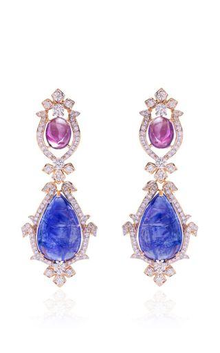 Royal Grace Earrings by FARAH KHAN FINE JEWELRY for Preorder on Moda Operandi