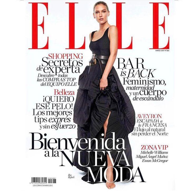 #Repost de @elle_spain  Nuevo ELLE y nueva portada de @barrefaeli. Fotos: @xavigordo / Realización @inmajimenezelle. Ayudante de estilismo @danielagtzgzz. Maquillaje y peluquería @vickymarcosg para @diormakeup y @ghdspain)