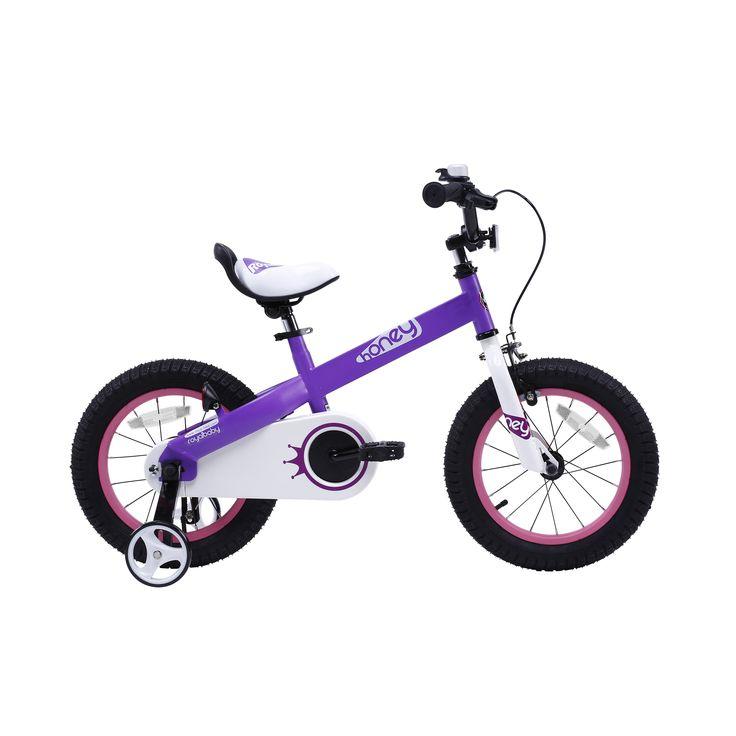 Royalbaby Honey 12 inch Kids Bike, Girls Bike, Boys Bike, or Lilac