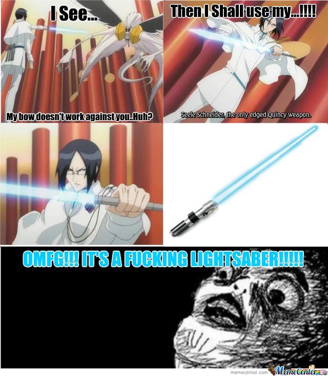 bleach memes | Bleach... Tite Kubo Is Such A Fan Of Starwars - Meme Center