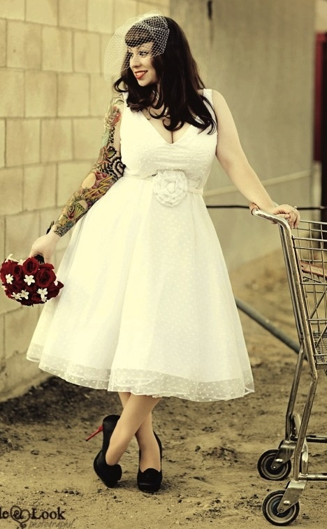 Gorgeous, #Retro #pinup #bridal look.I love this one!! :)