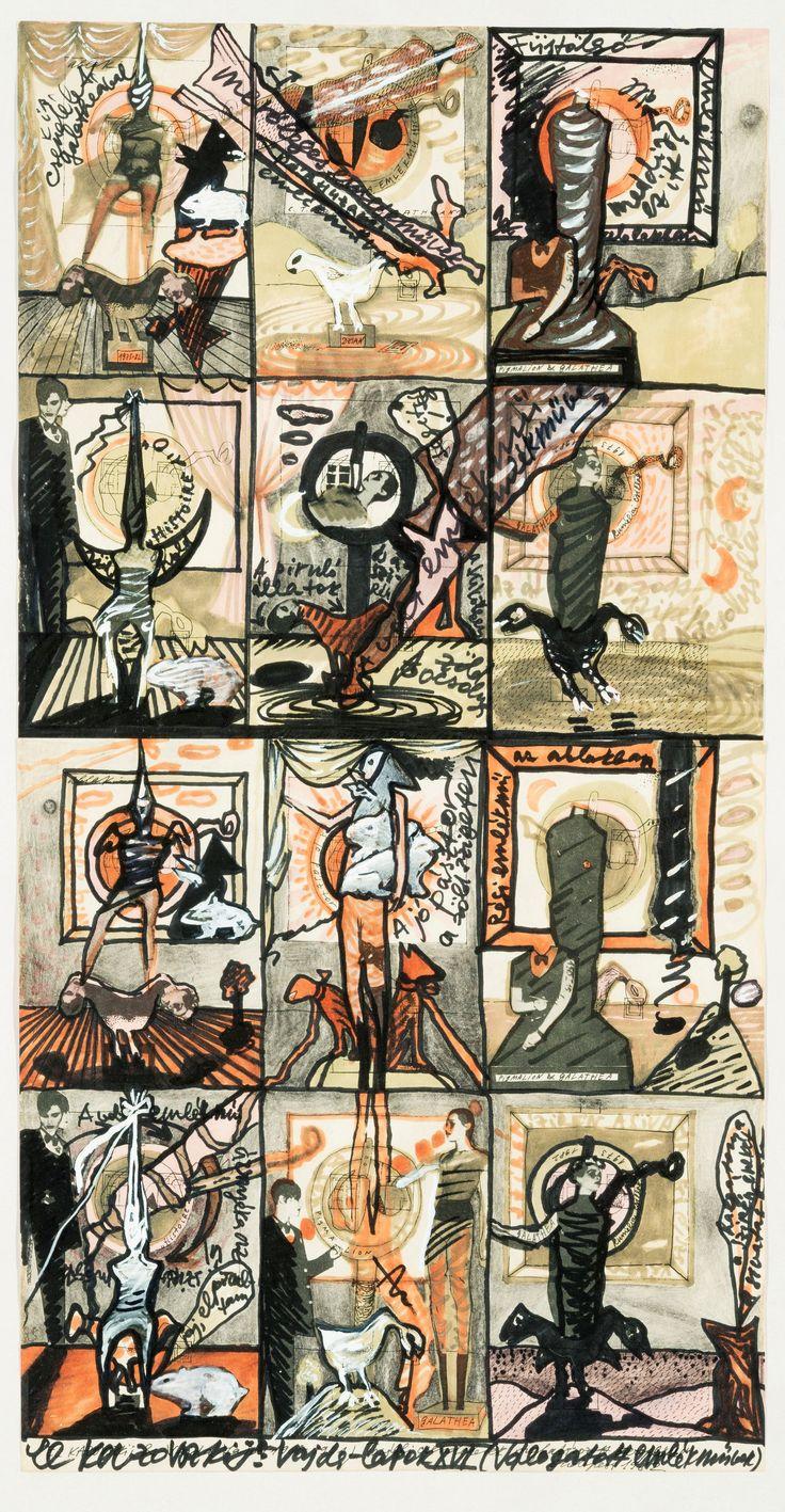 Élet&mű a Nemzeti Galériában. Performansz, fétis, festészet és vándorállatok. Mérlegen El Kazovszkij életműve. Képregényként megjelenő négyzetes,...
