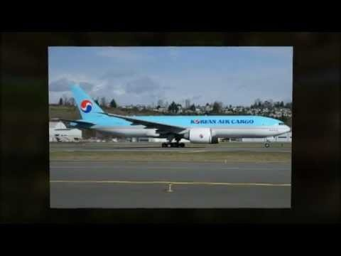Boeing 777 Increased Production Rate Delivery to Korea...