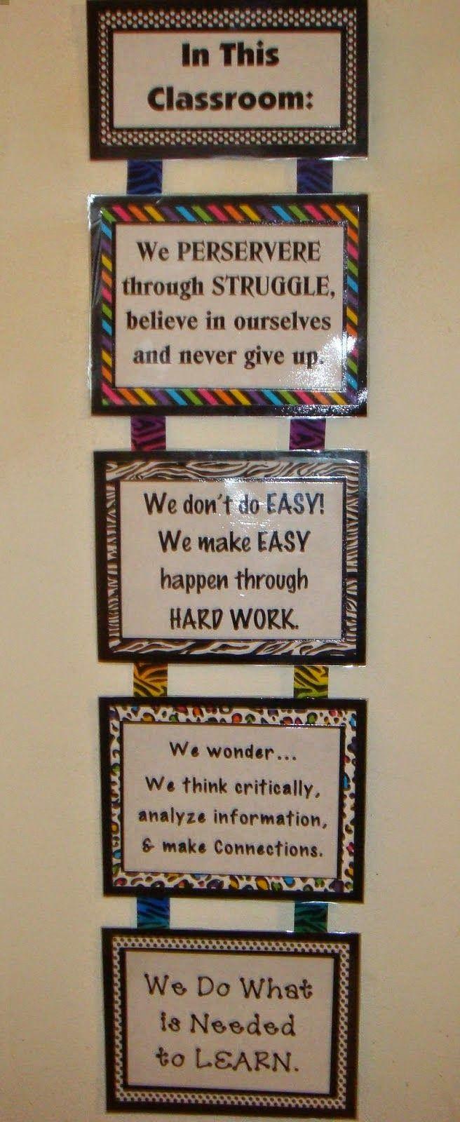 MRS. MCFADDEN'S CLASSROOM BLOG: Teaching Perseverance