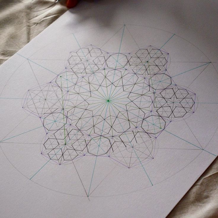 """A pattern taught last week at the Crow Museum during a sacred geometry session. The conference has now come to a close and we are back in the UK. We had a…"""