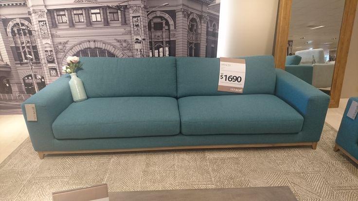 New lounge from Nick Scali. Teal/Aqua