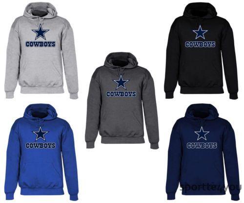 $21.99--XL--Dallas-Cowboys-Men-039-s-Hooded-Sweat-Shirt-Star-Logo-Cotton-Hoodie-Adult-Sweatshirt