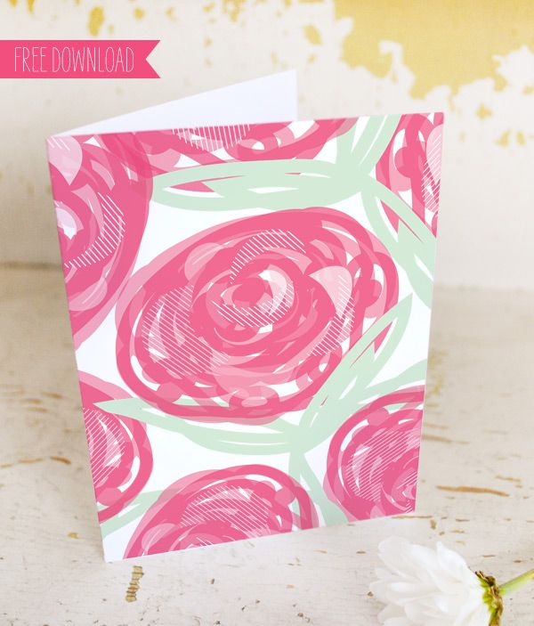 Two Card Printables For Mothers Day From Sweet Muffin Suite