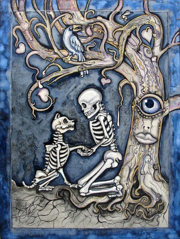Pin De Pitinb En Kodak Moments Dibujos Dibujo Dia De Muertos Esqueleto De Perro
